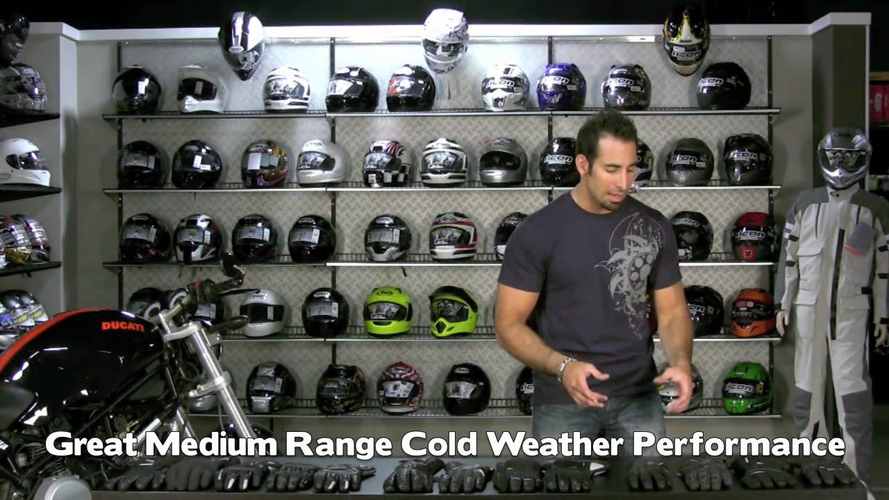Motorcycle gloves guide - Cold Weather And Winter Motorcycle Glove Guide At Revzilla Com