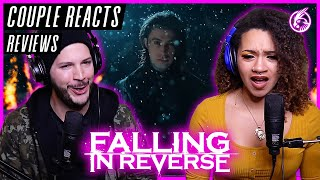 "COUPLE REACTS - Falling In Reverse ""The Drug In Me Is Reimagined"" - REACTION / REVIEW"