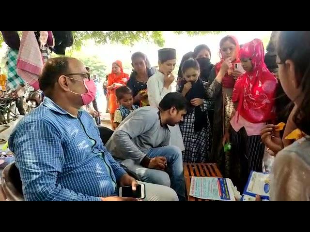 यूपी कानपुर के जाजमऊ दादा मियां की दरगाह पर राष्ट्रीय स्वास्थ्य मिशन द्वारा संचालित जिला मानसिक