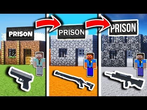 PRISON de NOOB vs PRISON de PRO DANS MINECRAFT ! 👮😱
