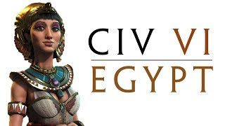 CIV 6: A Tale of Religion and Wonders   as Egypt! - Part 1