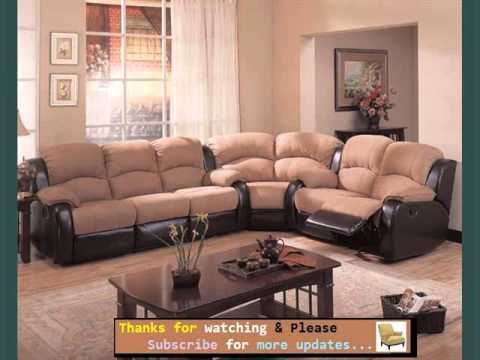 Living Room Furniture & Sectional Sofas Romance - YouTube