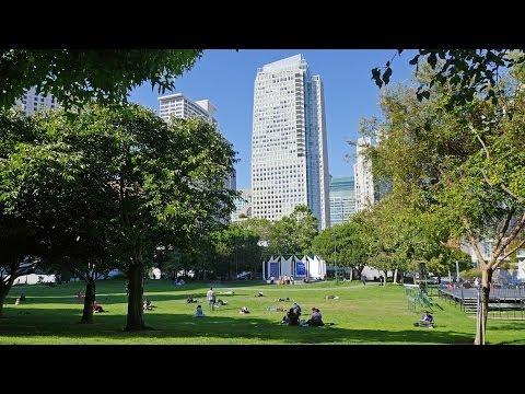 Visiting the Yerba Buena Gardens | San Francisco