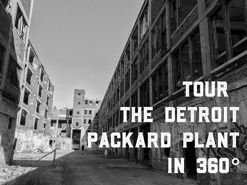 Tour the Detroit Packard Plant in 360° Video