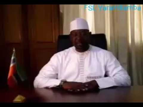 Gambia Interior Minister Fatty's Message To The Gambian Youths