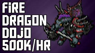 [Tibia Where to Hunt – RP 100+] Fire Dragon Dojo (500k/hr @ 114)