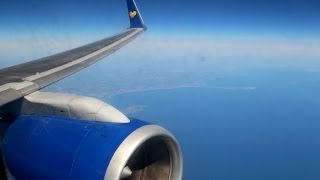 Thomas Cook Boeing 757-300   Gatwick to Fuerteventura, takeoff and landing TCX1014 Great RB211 sound