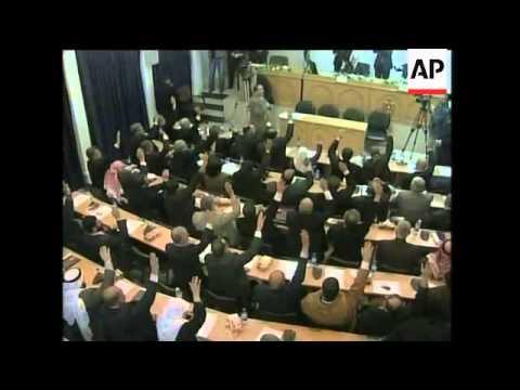 Gaza - Palestinian parliament approves Hamas-Fatah coalition government