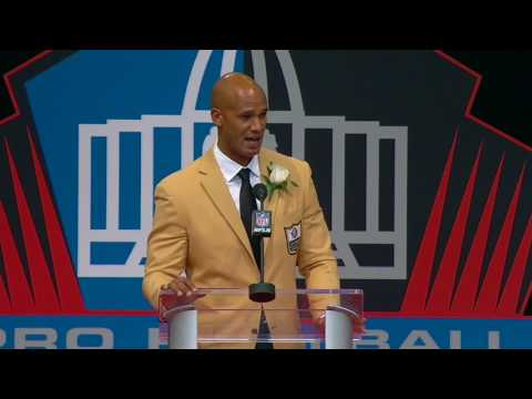 Jason Taylor Thanks Mother In Pro Football Hall Of Fame Speech | ESPN