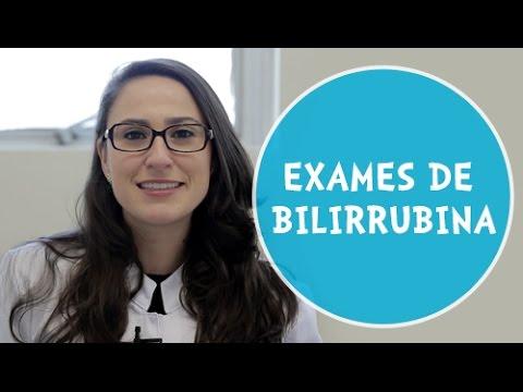 Vídeo Exame bilirrubina total e frações