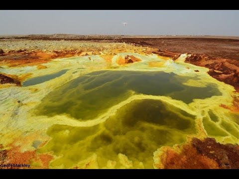 Dallol Sulphur springs and abandoned town  Afar    Ethiopia