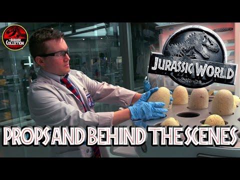 Jurassic World | PROPS AND EASTER EGGS | Chris Pratt | Behind the Scenes
