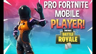 FORTNITE MOBILE PRO SQAUD GAMEPLAY! GETTING THE W!