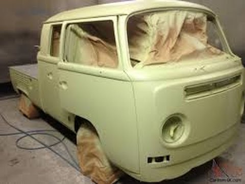 68 vw double cab bend and spray