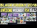 Black Friday 2018 - 10 Awesome PS4 Game Deals at Walmart (Great Cheap Games!)