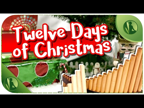 Classic Christmas Music with Flute and Piano  Twelve Days of Christmas