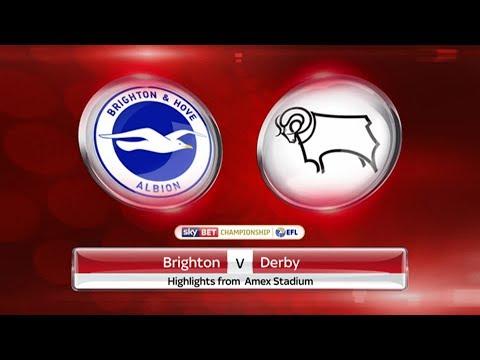 FIFA 17 | Kariéra | Brighton vs DERBY COUNTY | Sky Bet Champioship