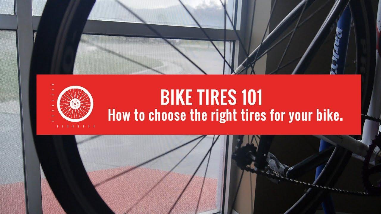 Bike Tires 101 The Basics Of Bike Tire Sizing Youtube