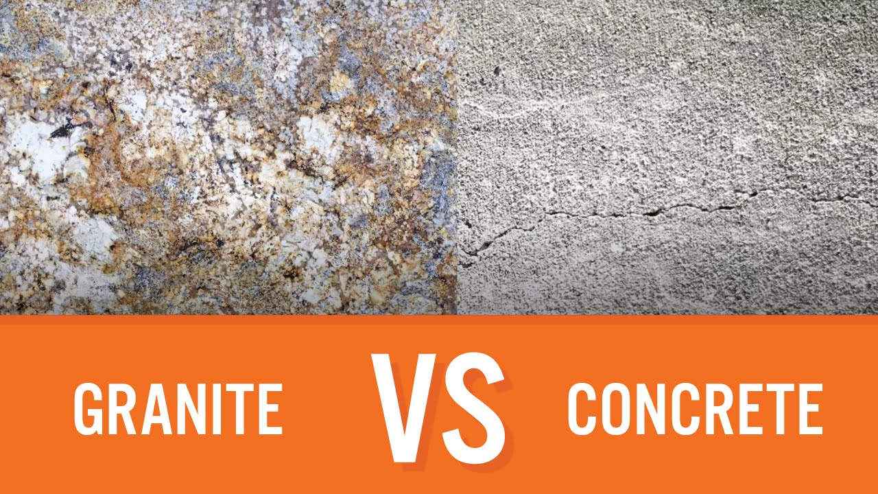 Granite Vs Concrete Countertop Comparison