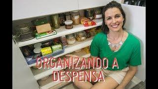 ORGANIZAÇÃO DA DESPENSA: dicas para facilitar o dia a dia e evitar o desperdício!