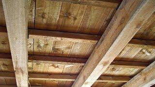Strawbale Vlog 51 - podłoga na stropie drewnianym