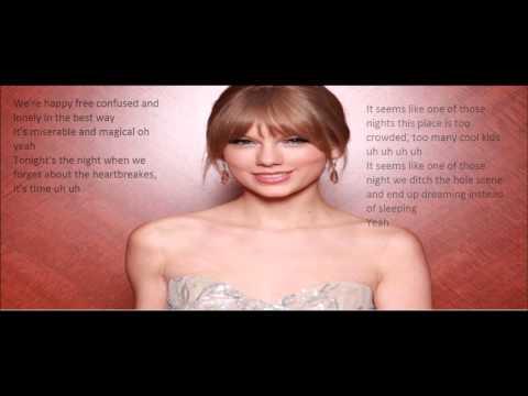 Taylor Swift - 22 Acoustic Lyrics