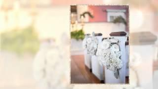 Свадебная ручка с подставкой Gilliann Rustik Velvet PEN020