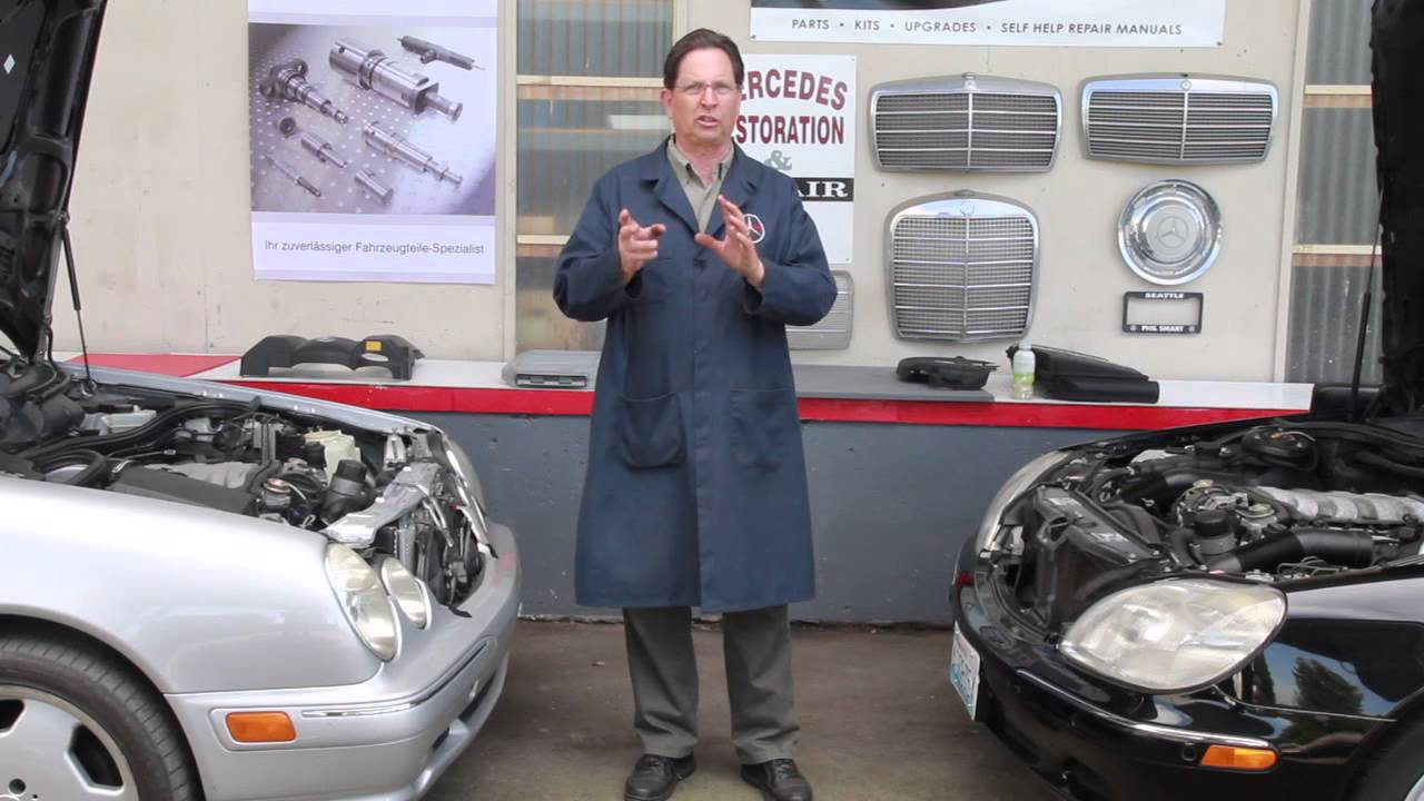 Scared Of Spray Cleaning Or Detailing Your Engine Compartment By Mercedes 190d Wiring Diagram Kent Bergsma Youtube