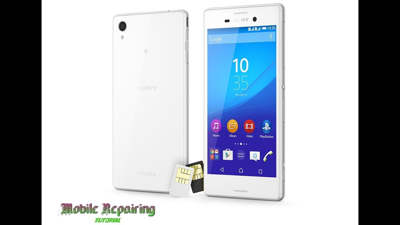 Sony Xperia M4 Disassembly Repair
