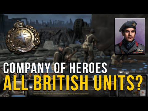 THERES SO MUCH TO BUILD!    COMPANY OF HEROES 2   ALL UNITS MOD