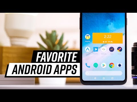 My Favorite Android Apps - 2018