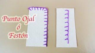 Hola, te comparto este fácil tutorial con el cual aprenderas a dos estilos de costura del Punto Ojal ó Festón que puede ayudarte mucho si aun no sabes bordar o ...