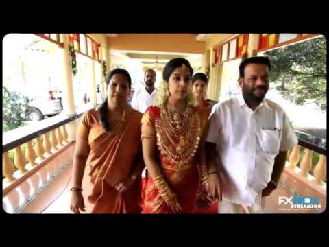 Anish Aswathi Kerala Traditional Hindu Wedding Video