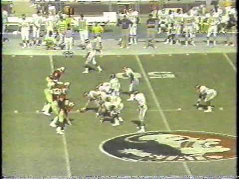 1988 East Carolina Trap Option Offense vs FSU