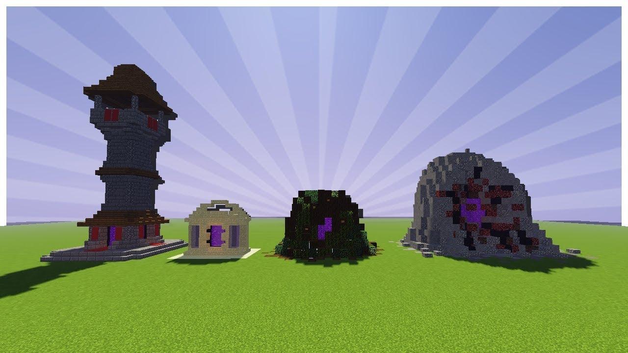 IDES POUR AMLIORER LE PORTAIL DU NETHER Minecraft
