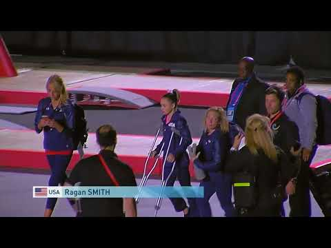 Ragan Smith Injured Minutes Before The Individual All-Around | World Championships 2017