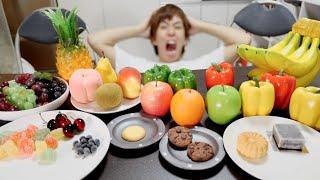 大量の食品サンプルの中に本物があっても分からんやろwwwwww