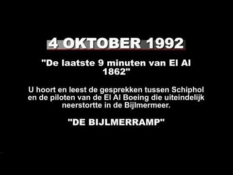 Bijlmerramp - El Al Flight 1862 - Amsterdam Air Crash - transcript