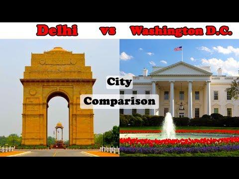 Delhi vs Washington D.C. || City Comparison (2018)