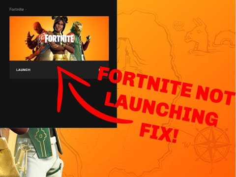*FORTNITE* NOT LAUNCHING ERROR *FIX*