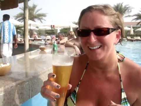 Rotana at Fujairah in UAE Al aqah beach - Pool Bar