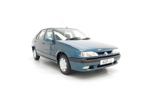 A Preserved And Rare Renault 19 1.4 RT Auto With Just 17,880 Miles From New - SOLD!