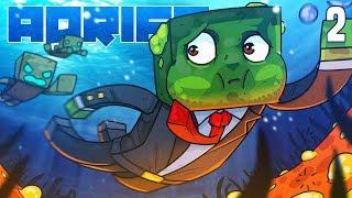 Minecraft: ADRIFT - Entering, THE DANGER ZONE! (Ep.2)