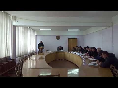 Ավագանու արտահերթ նիստ-18.03.2020