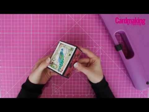 Papercraft How to make a simple gift box