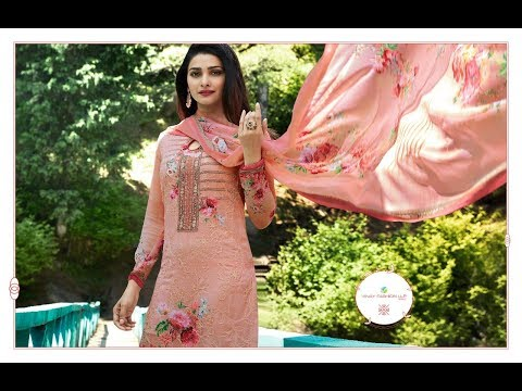 Latest Indian summer Salwar Suits Dresses Collection 2018 || Vinay Fashion  || Kaseesh Fusion