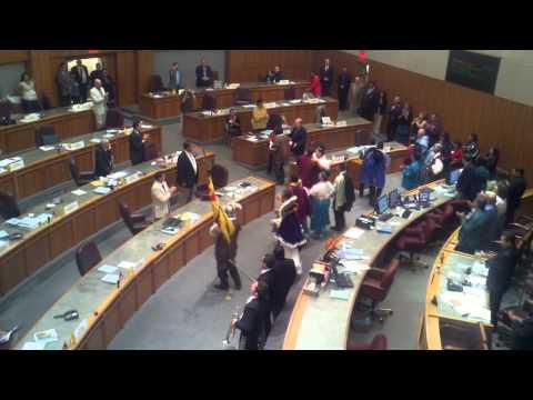 Santa Fe Fiesta Committee Court & Mariachis in State Senate