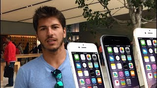 AMERİKA'DA İPHONE X, 8 VE 7+ FİYATLARI! SAN FRANCISCO APPLE STORE!