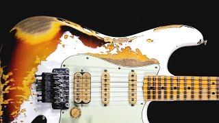 Dark Blues Rock Guitar Backing Track Jam in A Minor