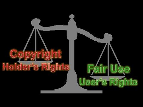 DMCA Part 3 - Fair Use: It's the Law
